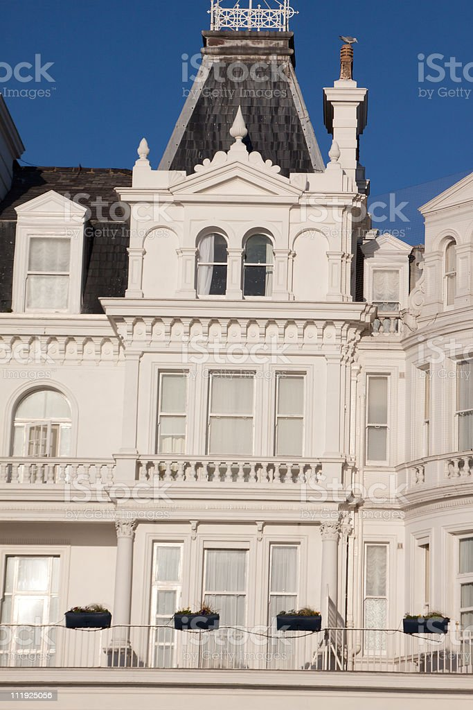 Eastbourne in East Sussex, England royalty-free stock photo