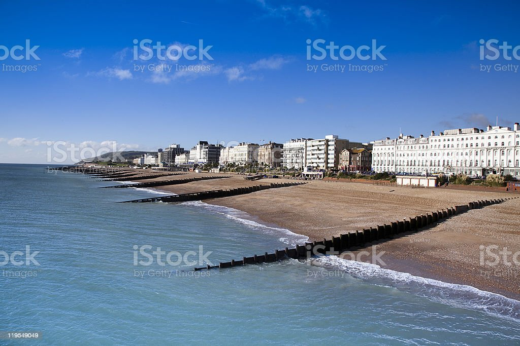 Eastbourne stock photo