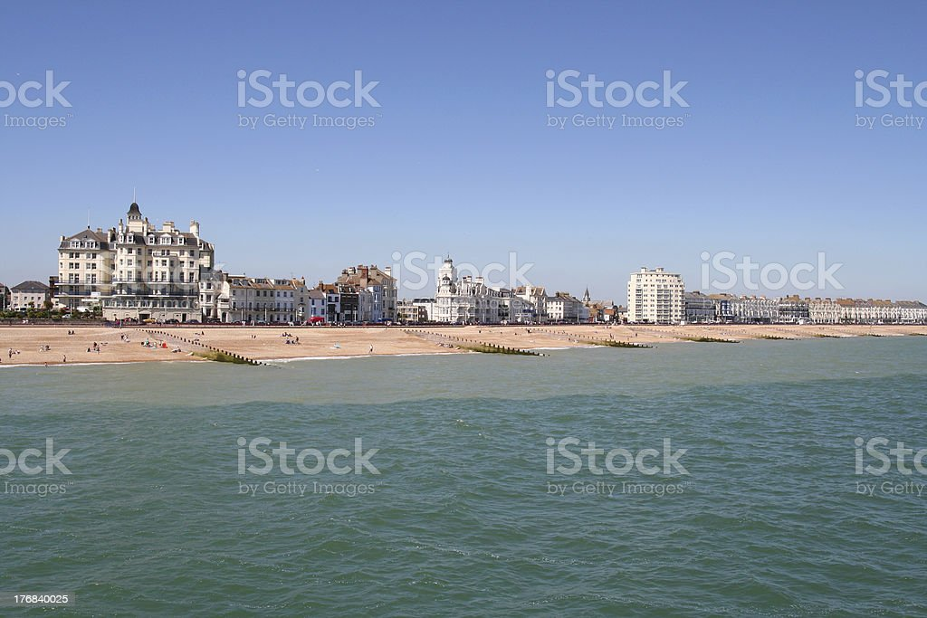 Eastbourne. stock photo