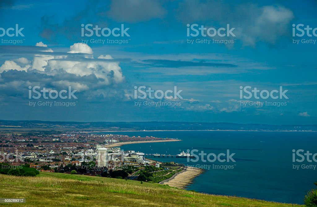 Eastbourne, UK stock photo