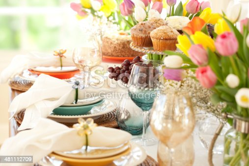 istock Easter and Special Occasion Dining 481112709