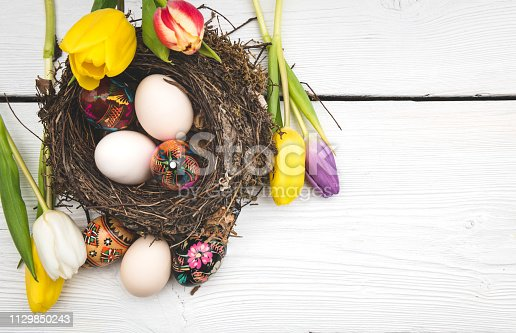 922658520 istock photo Easter background concept 1129850243