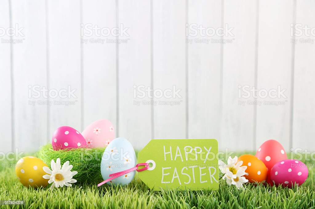 Easter Background Stock Photo 512824226