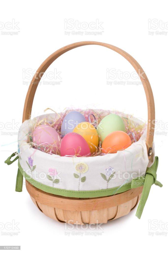 Easter Basket (XL) stock photo
