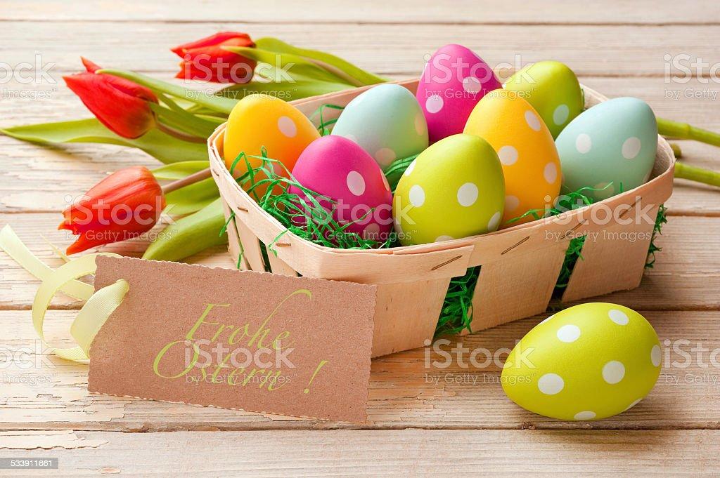 Easter basket – Foto