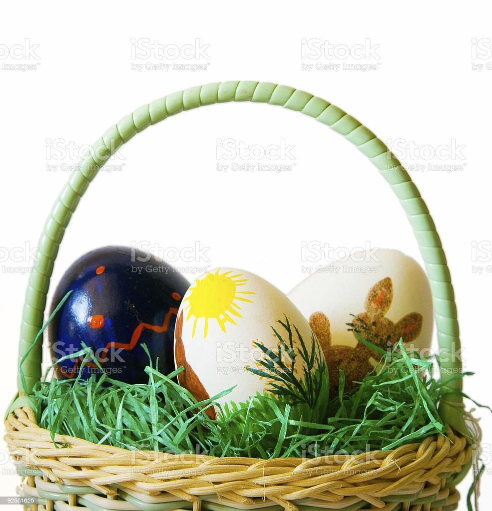 Panier de Pâques - Photo