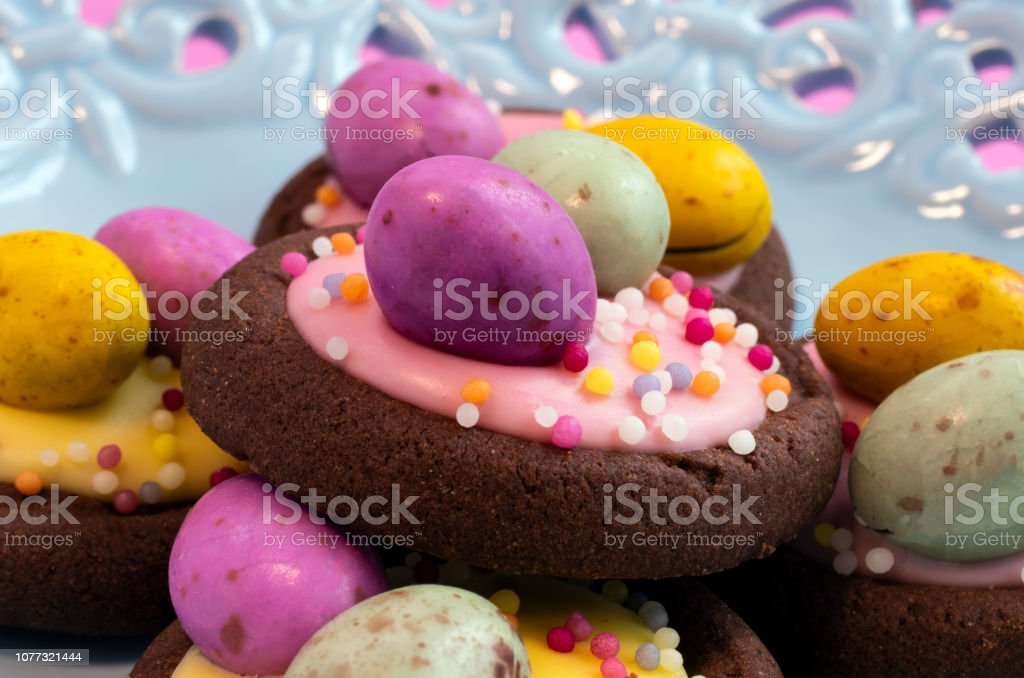 Easter Biscuits stock photo