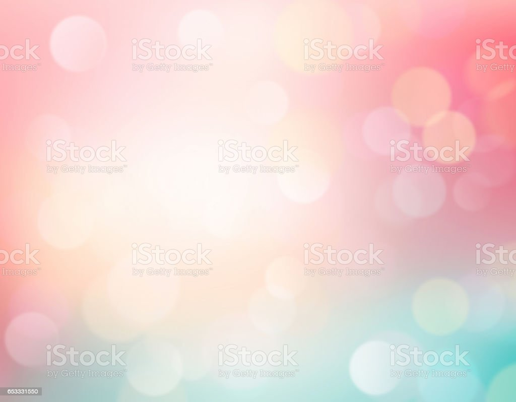 Easter blurred background.Soft colors romantic backdrop. stock photo