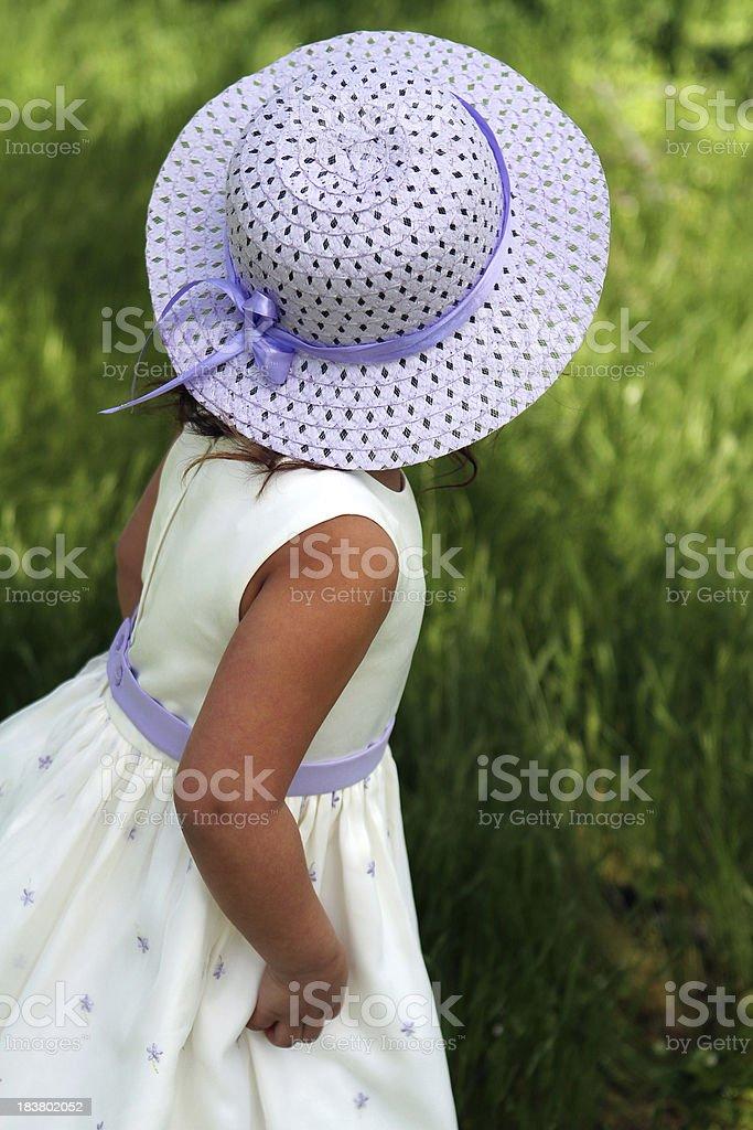Easter Bonnet royalty-free stock photo