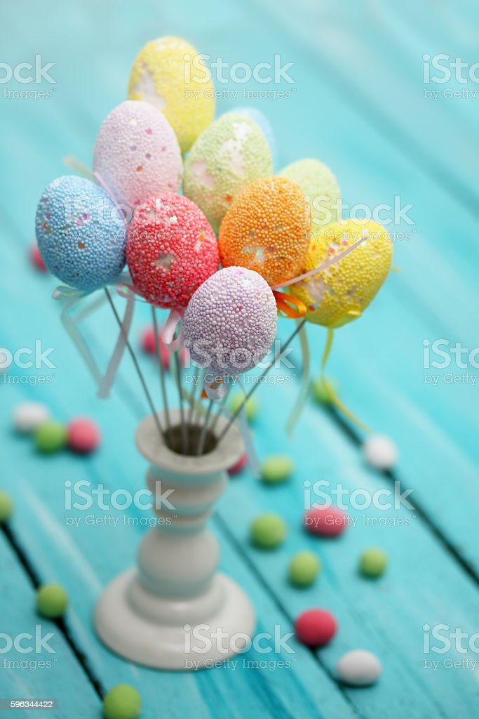 Easter bouquet royalty-free stock photo
