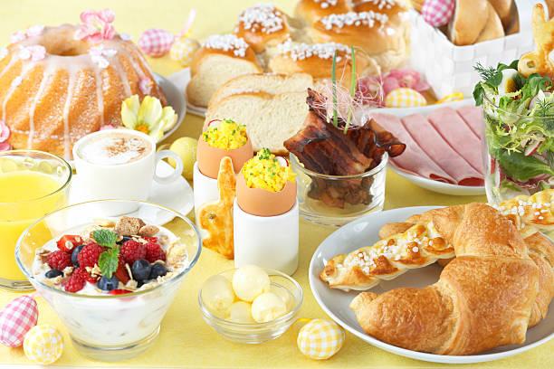Oster-Frühstück – Foto