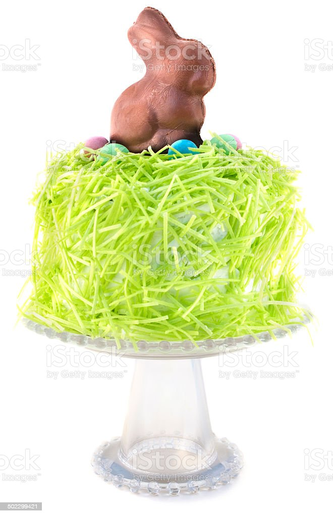 Easter Bunny Cake royalty-free stock photo