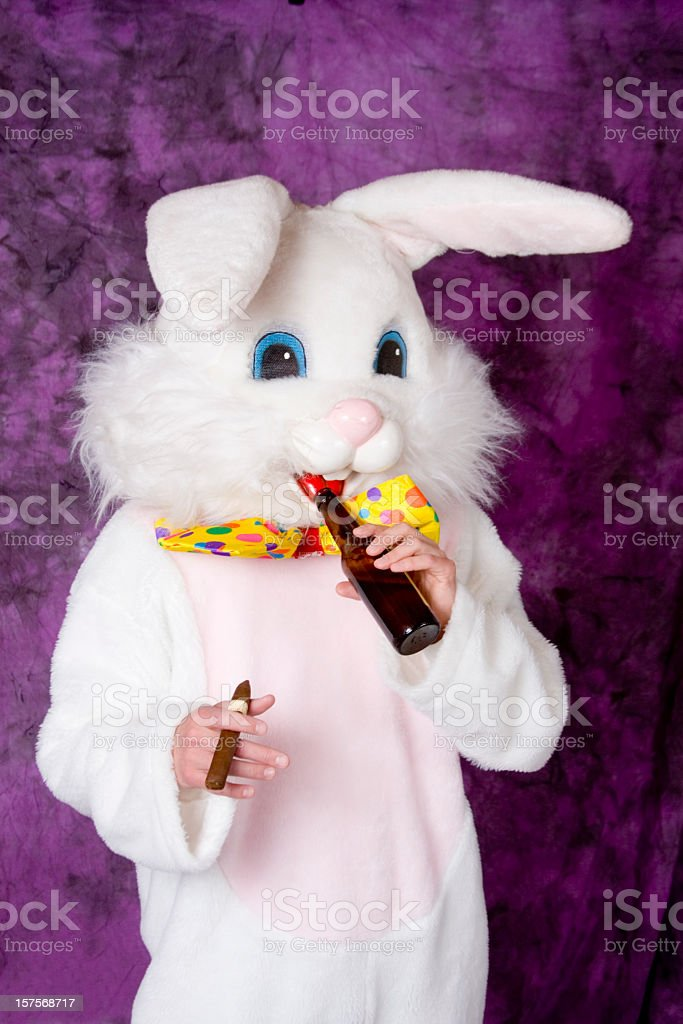 Easter Bunny Stock Photo More Pictures Of Beer Alcohol Istock