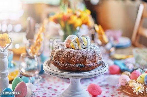 istock Easter Bunt Cake 1135158066