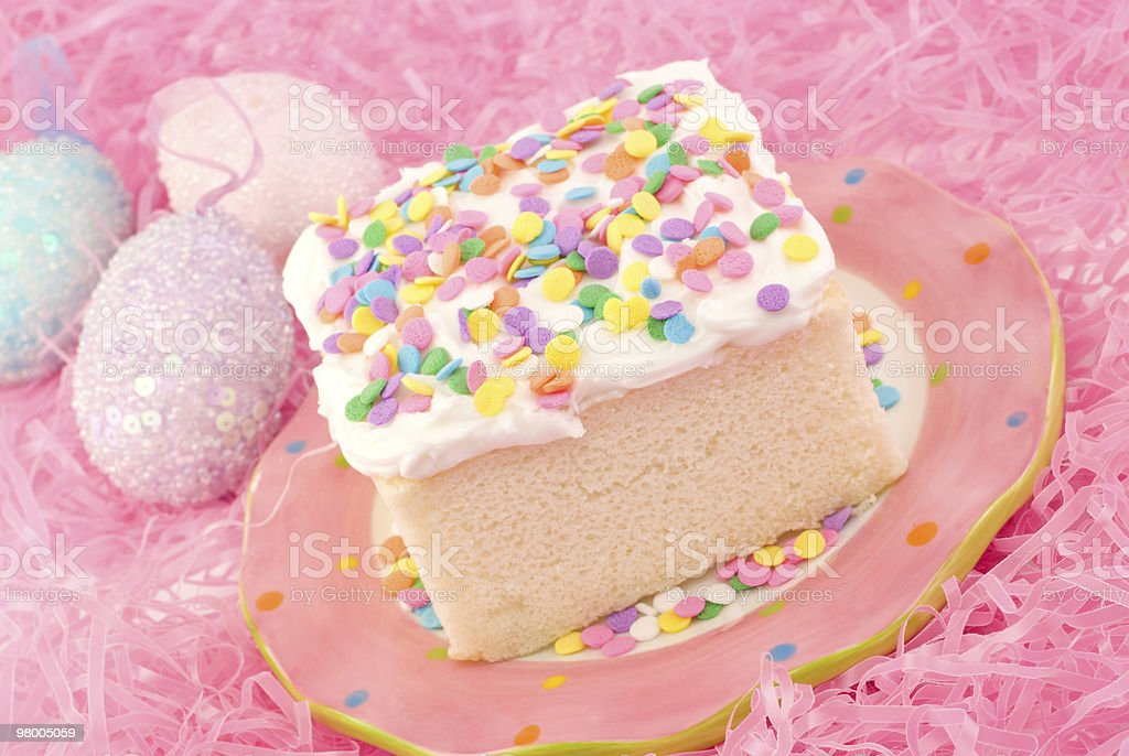 Easter Cake Closeup royalty free stockfoto