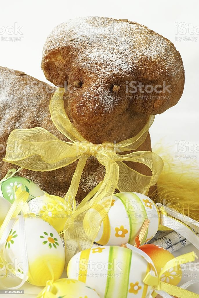Easter cake royalty-free stock photo