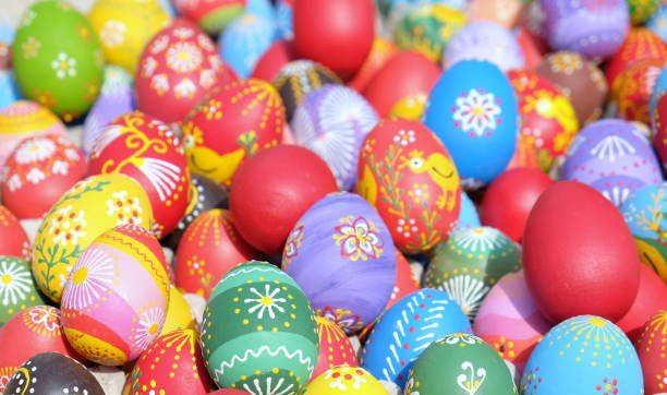 easter celebration - greek easter stock photos and pictures