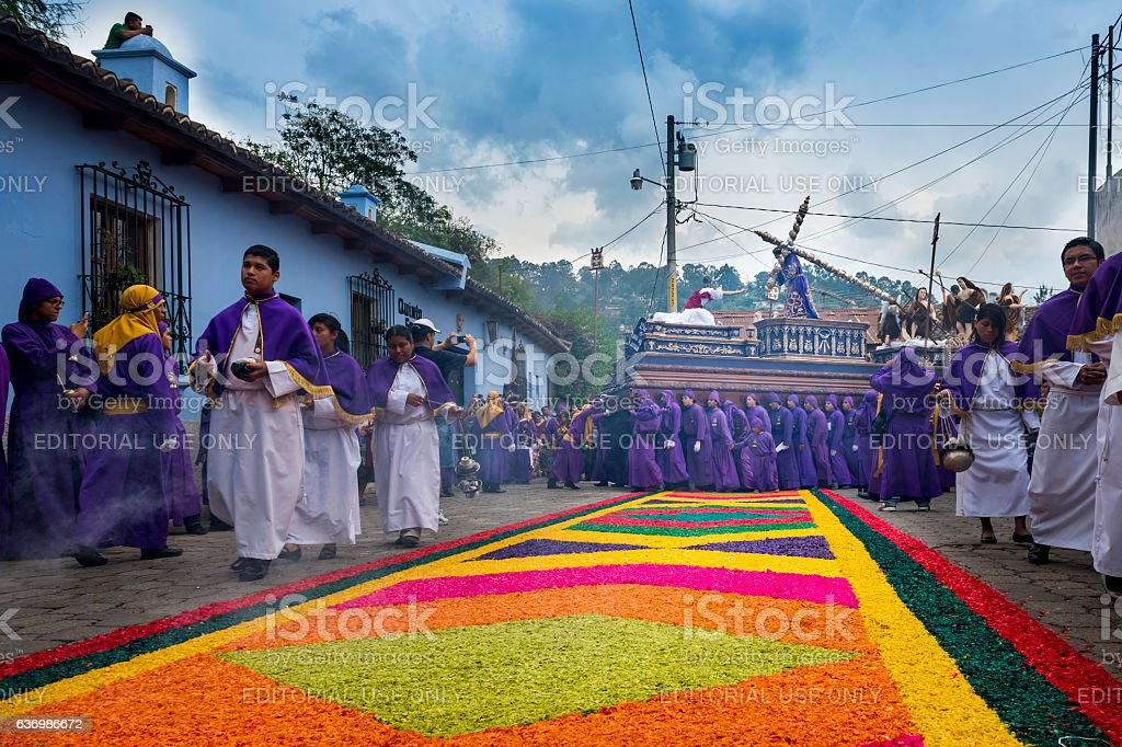 Easter Celebrations in Antigua, Guatemala – Foto