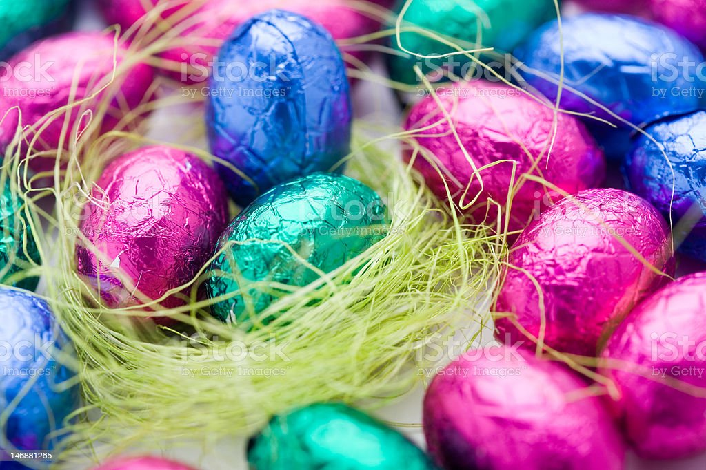 Easter chocolate royalty-free stock photo