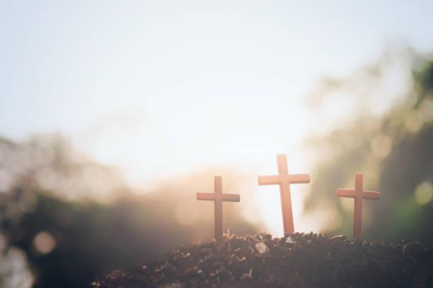 pâques, fond de fond de christianisme. - jesus croix photos et images de collection