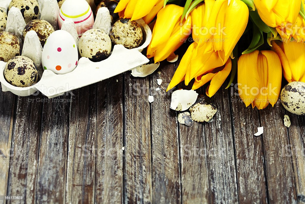 easter composition royalty-free stock photo