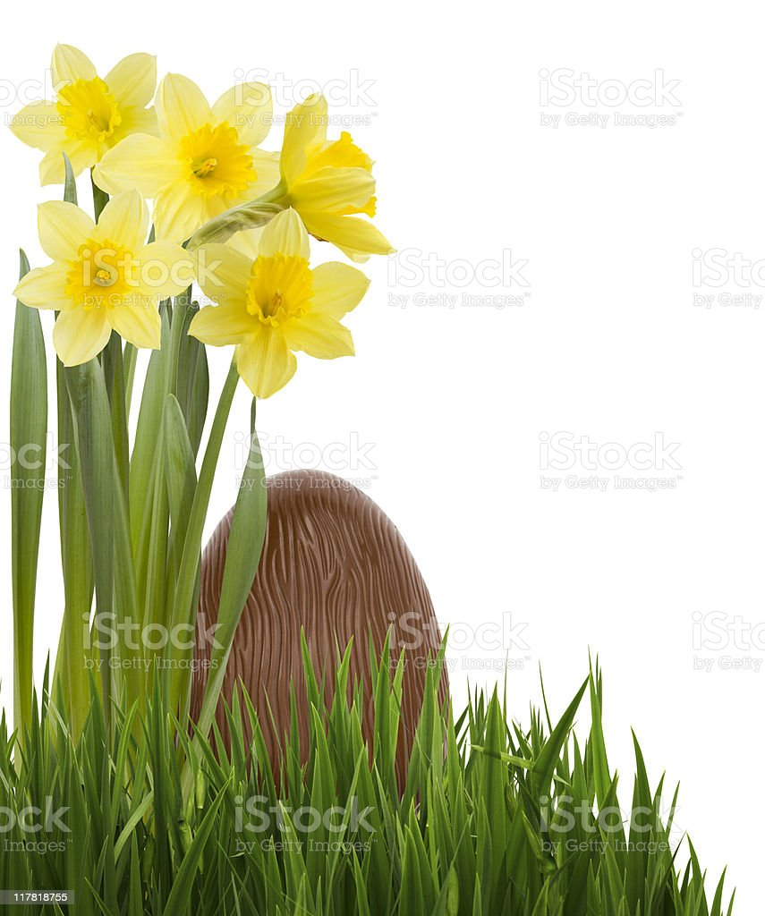 Easter Corner royalty-free stock photo