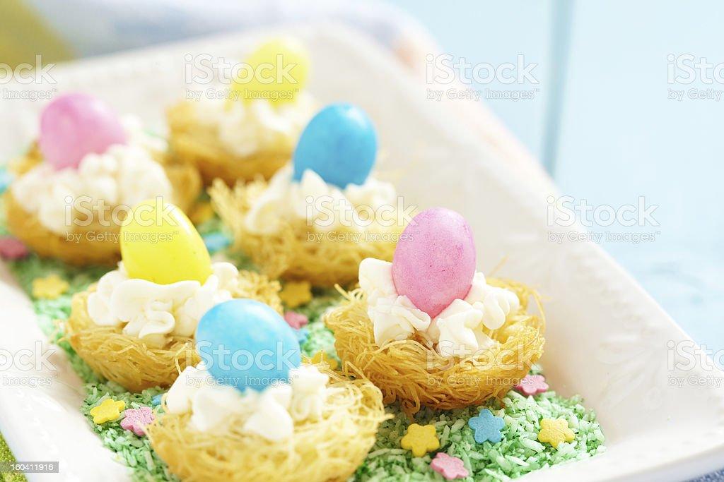 Easter dessert royalty-free stock photo
