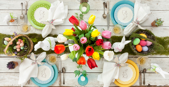 Easter Dining Table