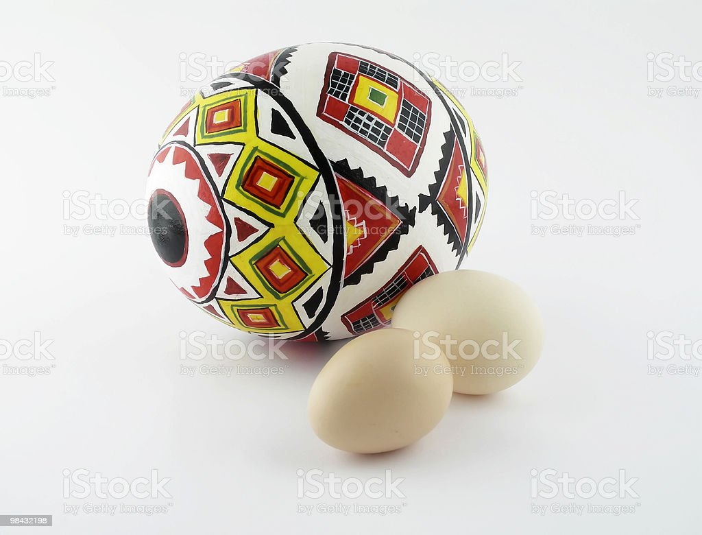 Easter egg 2 royalty-free stock photo