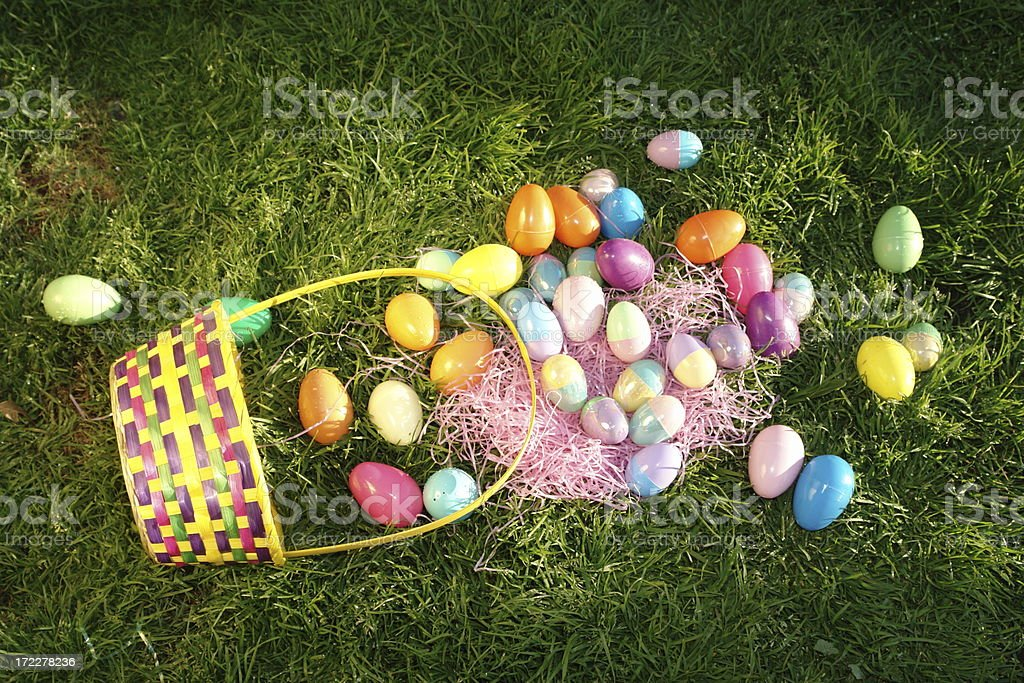 Easter Egg Accident stock photo