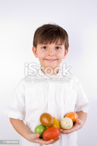 istock Easter Egg and Bunny Series 173800933