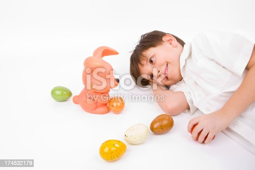 istock Easter Egg and Bunny Series 174532179
