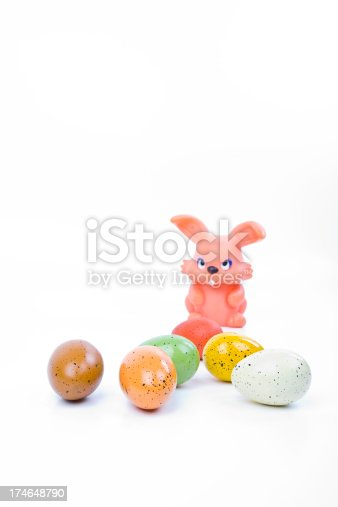 istock Easter Egg and Bunny Series 174648790