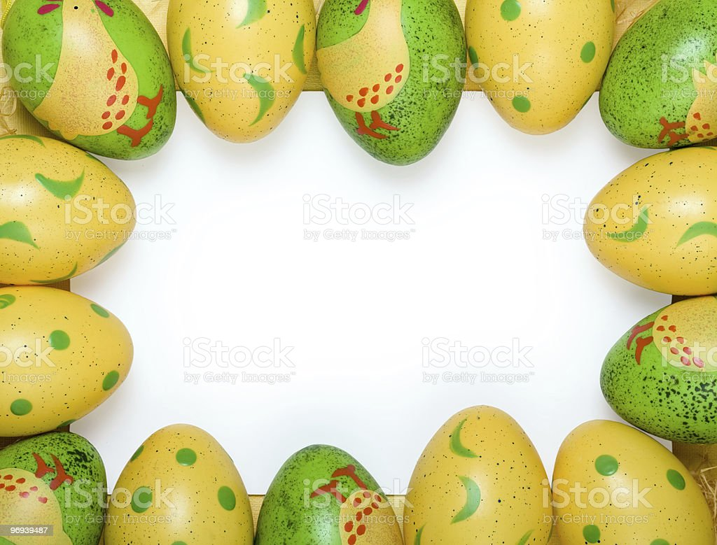 Easter egg background royalty-free stock photo