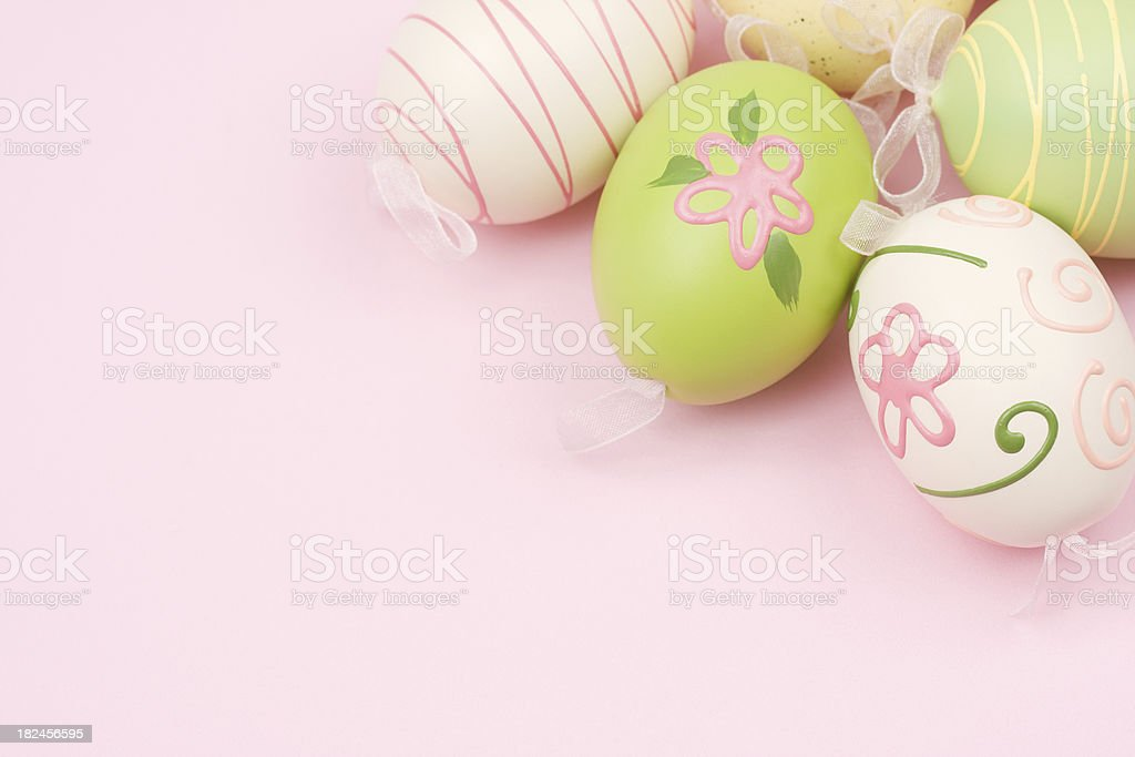 Easter Egg Border royalty-free stock photo