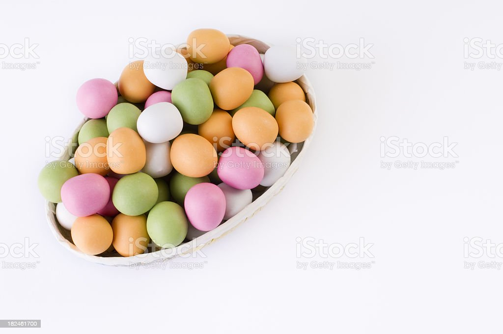 Easter Egg Candy stock photo
