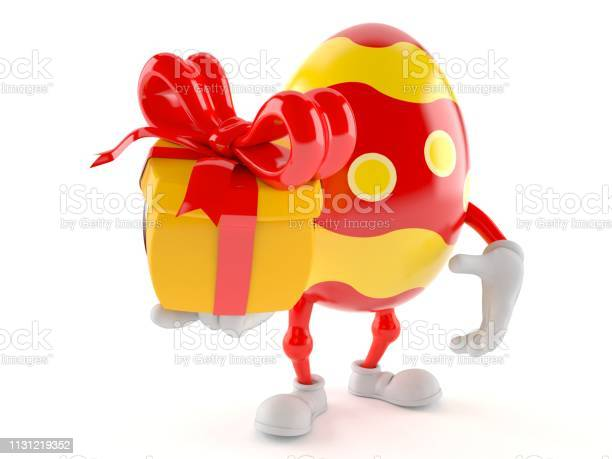 Easter egg character holding gift picture id1131219352?b=1&k=6&m=1131219352&s=612x612&h=rarh0osb4zgrh5aiia69elzoj0u91gjrt33lnkfcotq=