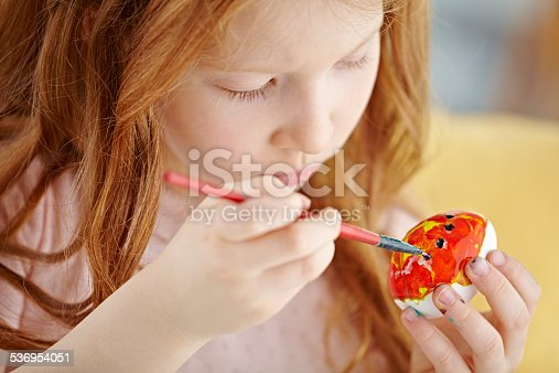 istock Easter egg decorating 536954051
