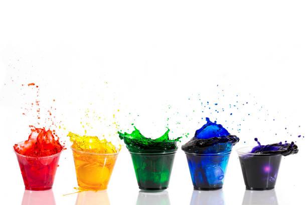 easter egg dye splash - barwnik zdjęcia i obrazy z banku zdjęć