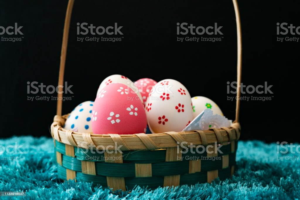 Easter egg, happy Easter sunday hunt holiday decorations