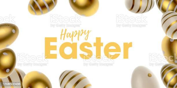 Easter egg hunt easter composition golden shine decorated eggs in picture id1208502435?b=1&k=6&m=1208502435&s=612x612&h=vbknq9iirkj0dg67t znp8j12uut t0rsa rg nmlck=