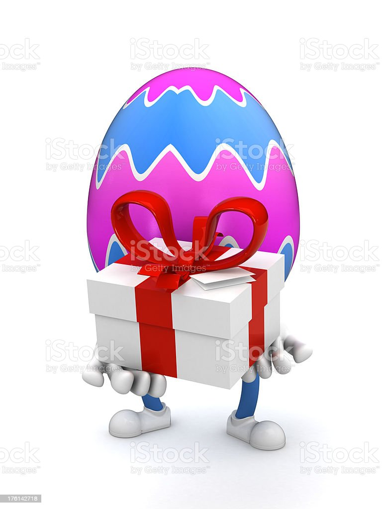 Easter egg royalty-free stock photo