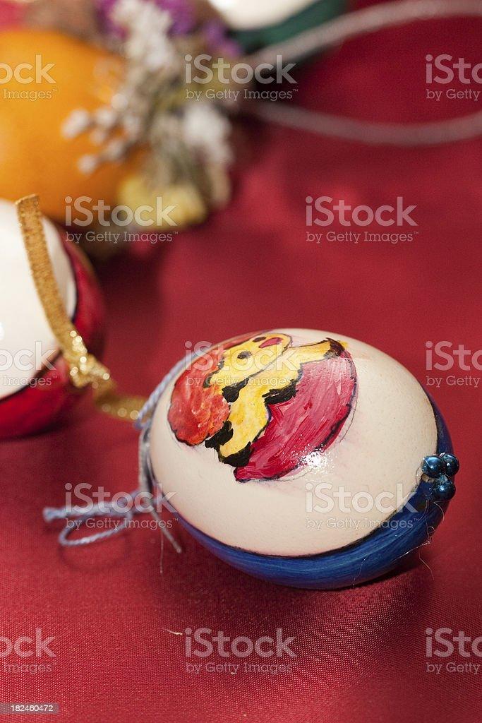 Huevo de pascua foto de stock libre de derechos
