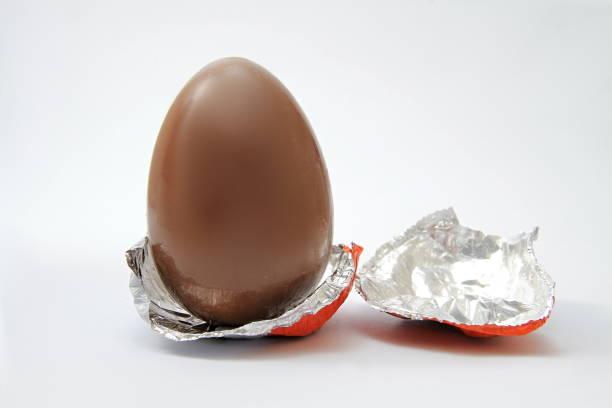 Easter egg with art design stock photo