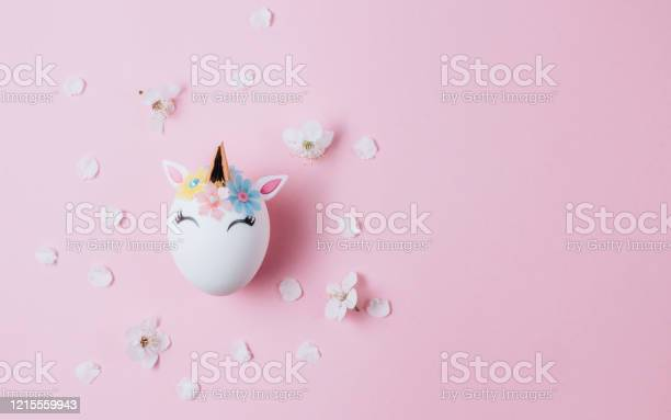 Easter eggs in the form of a unicorn on pink background happy easter picture id1215559943?b=1&k=6&m=1215559943&s=612x612&h=yqhbyqf0iekmeysr9 90gj9iiqrqtqzos752703gqw8=
