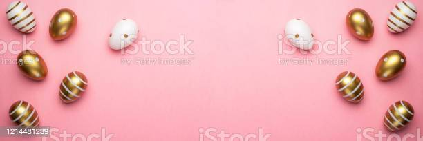 Easter eggs isolated on pink background for greeting card promotion picture id1214481239?b=1&k=6&m=1214481239&s=612x612&h=evfeguarwesgimyu3pqfhlivoh4hokgciygvxjnibxg=