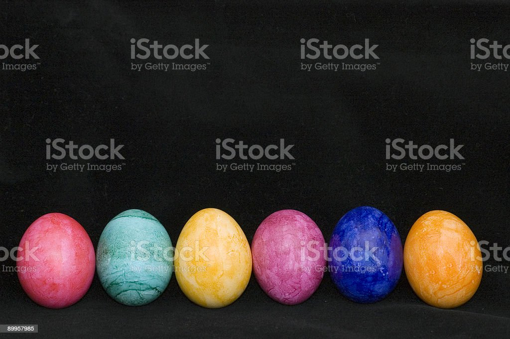 Easter Eggs IV royalty-free stock photo