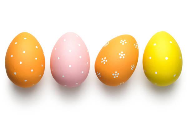 부활절 달걀 화이트 - 부활절 달걀 뉴스 사진 이미지