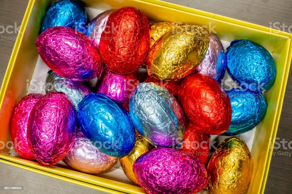 Páscoa ovos ou ovos de Páscoa - Foto de stock de Alumínio royalty-free