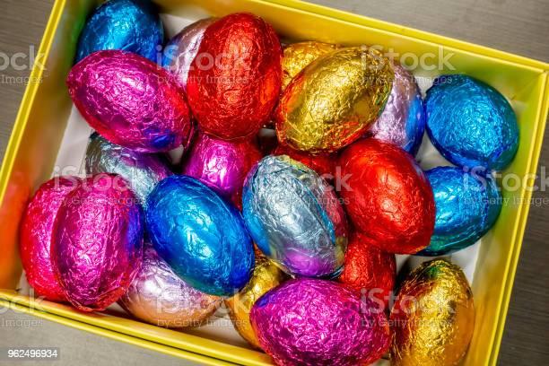 Foto de Páscoa Ovos Ou Ovos De Páscoa e mais fotos de stock de Alumínio